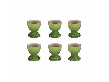 Le Creuset - Set de 6 coquetiers - palm/brillant