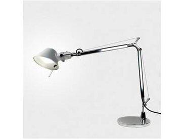 artemide Tolomeo Mini Tavolo - Lampe de Bureau - aluminium/anodisé/poli/avec pied de table/PxH 68x54cm