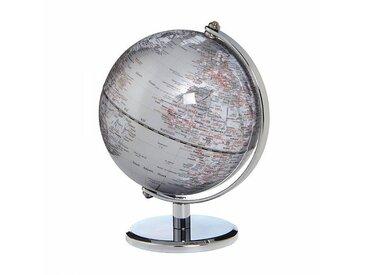 emform Mini-Globe Ø13cm Gagarin - argent/H 17cm / Ø 13cm