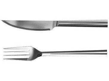 Rosendahl Design Service de couverts à steak 2 pièces - acier inoxydable/1x fourchette & 1x couteau
