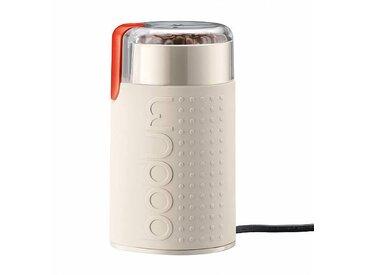 Bodum Moulin à café électrique Bistro H 16,6cm - crème/PxHxP 9,5x16,6x9cm