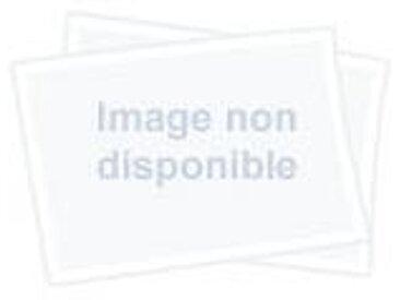Arper Catifa 70 2008 - Repose-pied - blanc/cuir souple Pelle Fiore 001/support en aluminium