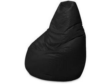 zanotta Sacco 280 - Pouf cuir - noir/cuir Pelle Scozia 0656/PxHxP 80x68x80cm