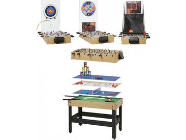 Table Multi Arcade Jeux 9 en 1