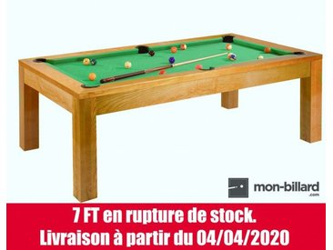 Billard convertible Guillaume Bois clair 6 ou 7 Feet