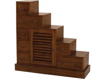 Escalier mindi 7 tiroirs, 1 porte