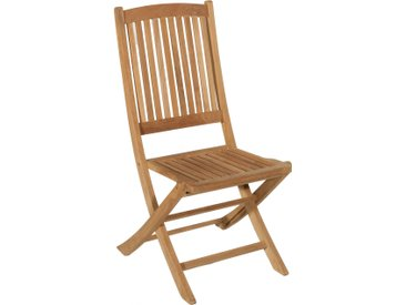 Chaise pliante teck