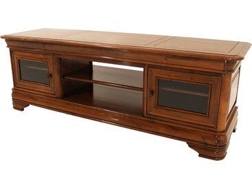 Banc TV / Hifi bas LCD-plasma Noyer