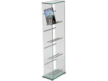 Range DVD verre trempé et aluminium