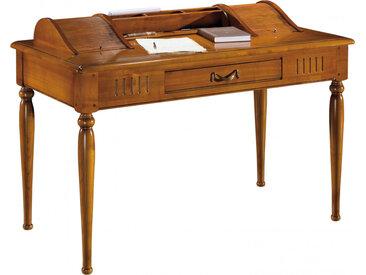 Table d'écriture 1 tiroir 2 rideaux