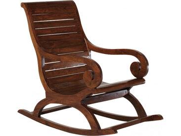 Rocking chair mindi accoudoirs volutes