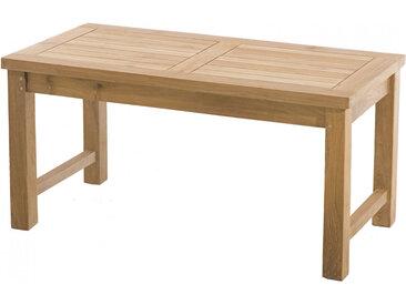 Table basse de jardin  teck rectangulaire