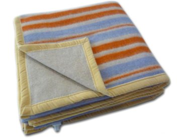 LANCALOR couverture chauffante électrique ELETTROCOPERTA II une place et demi 190 x 170 cm 100% laine