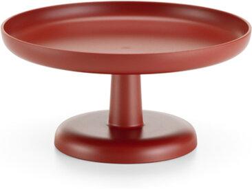 VITRA plateau, présentoir à gâteaux ou à fruits HIGH TRAY (Brique foncé - ABS)