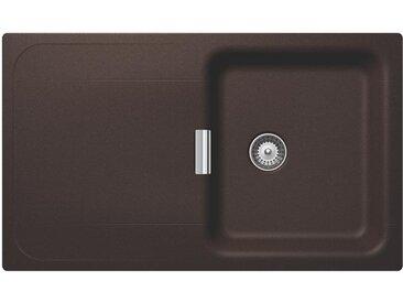 SCHOCK évier avec bac et égouttoir réversible WEMBLEY D100 (Bronze - Cristadur® Premium)