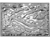 KARTELL plateau DUNE MÉTALLISÉS PRECIOUS COLLECTION (55 x 38 cm Chromé - PMMA métallisé)