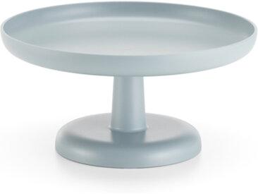 VITRA plateau, présentoir à gâteaux ou à fruits HIGH TRAY (Gris glace - ABS)