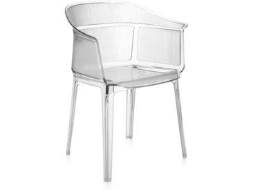 KARTELL fauteuil PAPYRUS (Cristal - Polycarbonate transparent)