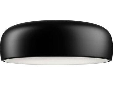 FLOS lampe au plafond plafonnier SMITHFIELD PRO C à LED avec DIMMER DALI (Noir mat - Méthacrylate / aluminium)