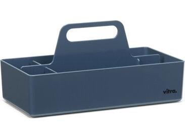 VITRA TOOLBOX porte-papeterie porte-stylos pour bureau (Bleu Marine - ABS)