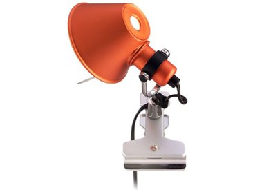 ARTEMIDE lampe pince TOLOMEO MICRO PINZA (orange, halo/Led - Aluminium, acier)