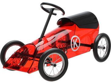 KARTELL KIDS voiture pour enfants DISCOVOLANTE (Rouge - PMMA, métal et roulettes en caoutchouc)