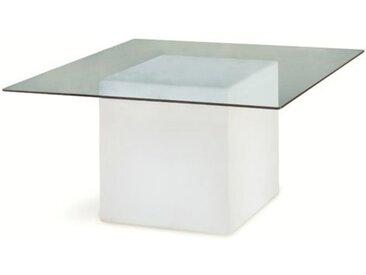 SLIDE table lumineuse SQUARE (Blanc - Polyéthylène)
