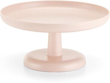 VITRA plateau, présentoir à gâteaux ou à fruits HIGH TRAY (Rose clair - ABS)