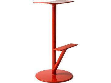 MAGIS tabouret haut SEQUOIA (Rouge Corail - acier verni polyester)