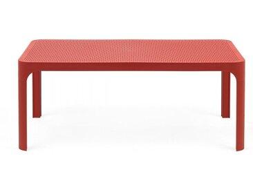 NARDI table basse pour extérieur NET (Corail - Polypropylène PRV)