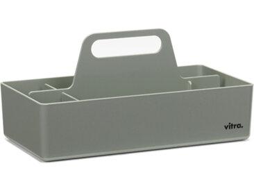 VITRA TOOLBOX porte-papeterie porte-stylos pour bureau (Gris musc - ABS)