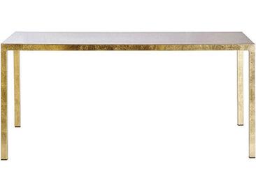 OPINION CIATTI table carrée ILTAVOLO 130 cm (Feuille d'or - Métal)