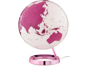 ATMOSPHERE lampe de bureau mappemonde LIGHT & COLOUR BRIGHT (Hot Pink - PMMA)
