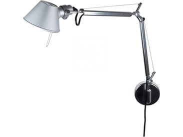 ARTEMIDE lampe murale applique TOLOMEO MICRO LED (aluminium. Led 3000K - Aluminium)