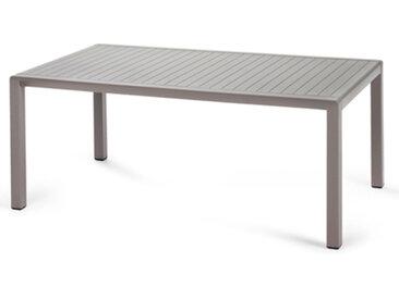 NARDI table basse pour extérieur ARIA GARDEN COLLECTION (Gris tourterelle - Polypropylène)