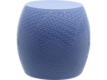 KARTELL tabouret ROY (Bleu - Technopolymère thermoplastique coloré dans la masse)