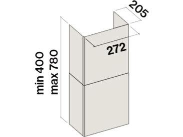 FALMEC cheminée KCTCN.001#B pour hotte murale TAB et TAB A+ (Blanc - Acier)