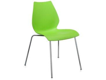 KARTELL set de 2 chaises MAUI (Vert - Polypropylène coloré dans la masse)