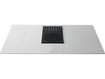 ELICA plaque à induction avec la balance et hotte version évacuation NIKOLATESLA LIBRA PRF0147774 (Blanc - Verre)