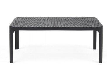 NARDI table basse pour extérieur NET (Anthracite - Polypropylène PRV)