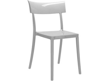 KARTELL set de 2 chaises CATWALK (Gris - Polycarbonate coloré dans la masse)