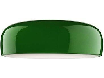 FLOS lampe au plafond plafonnier SMITHFIELD PRO C à LED avec DIMMER DALI (Vert - Méthacrylate / aluminium)
