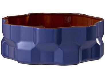 DRIADE centre de table GEAR (Bleu - Céramique)