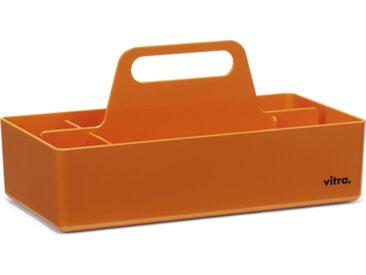 VITRA TOOLBOX porte-papeterie porte-stylos pour bureau (Mandarine - ABS)