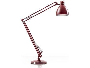 LEUCOS lampadaire d'extérieur THE GREAT JJ OUTDOOR (Rouge amarante opaque - Aluminium)