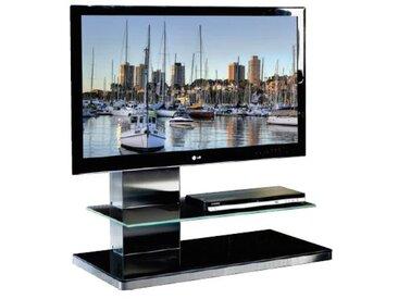 MUNARI meuble avec LED pour TV SYDNEY SY 341 SY341NE (Noir - Verre)