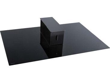NOVY plaque à induction avec hotte version recyclage ONE POWER (LED blanc - verre noir)