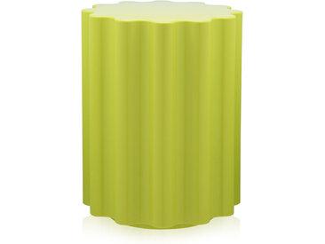 KARTELL tabouret COLONNA (Vert - Technopolymère thermoplastique coloré dans la masse)