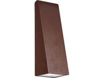 ARTEMIDE lampe murale applique pour extérieur CUNEO (Rouille - Aluminium et méthacrylate)
