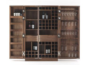 RIVA 1920 meuble à vin CAMBUSA WINE (Noyer - bois massif)
